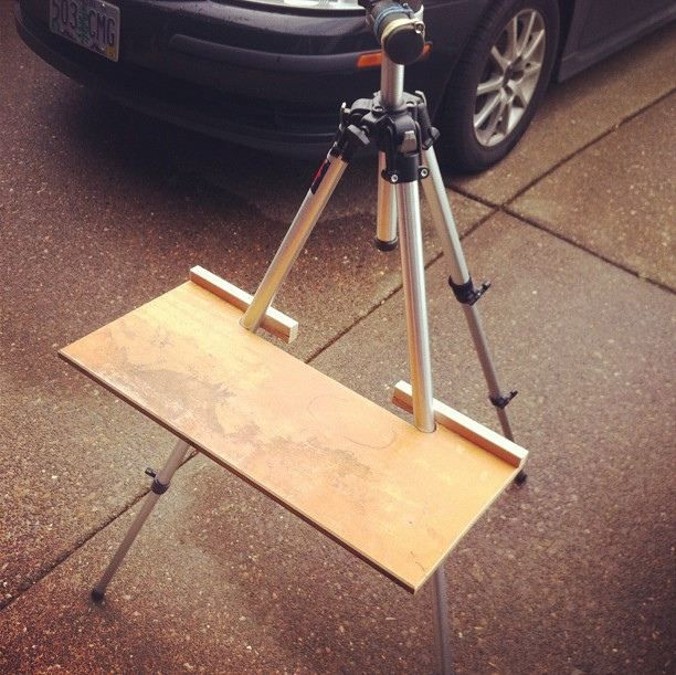 Recommendations for tripod easels? DIY or other .. - WetCanvas