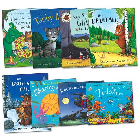 Julia Donaldson's Books - we love all these books! - I have my own little collection, great 'kids' books.