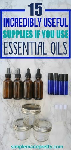 I started using Young Living essential oils and as a beginner, I didn;t know how to use them or which supplies were the best when making my own DIY essential oil recipes. She recommends the best essential oils supplies that you can get delivered with 2-day free shipping! If you need suggestions on essential oils supplies, check out her post!