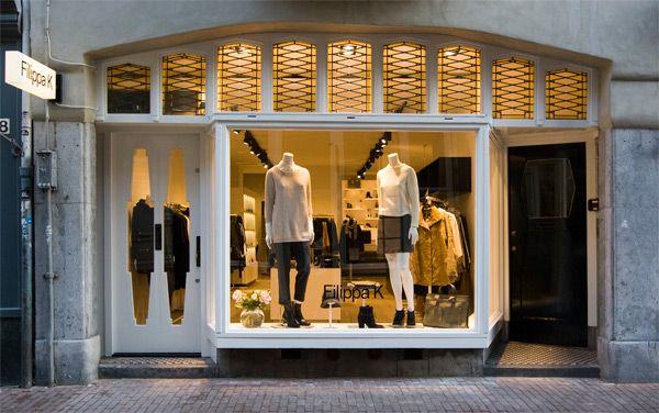 Filippa K new brand store on Wolvenstraat, Amsterdam
