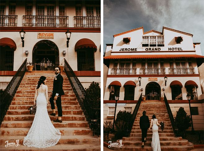 Jerome Arizona Wedding Photography Samantha Vincent Jamie Y Photography Grand Je Arizona Photography Las Vegas Elopement Las Vegas Wedding Photographers