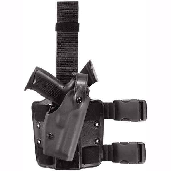 Safariland SLS Tactical Holster Level 2 Black Right-handed Beretta 92 96 W SureFire 3V 333