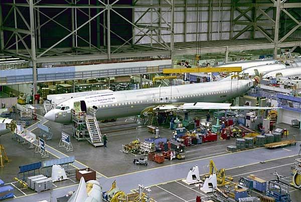 Boeing Airplane Programs manufacturing site Renton, Washington - Next-Generation 737-900