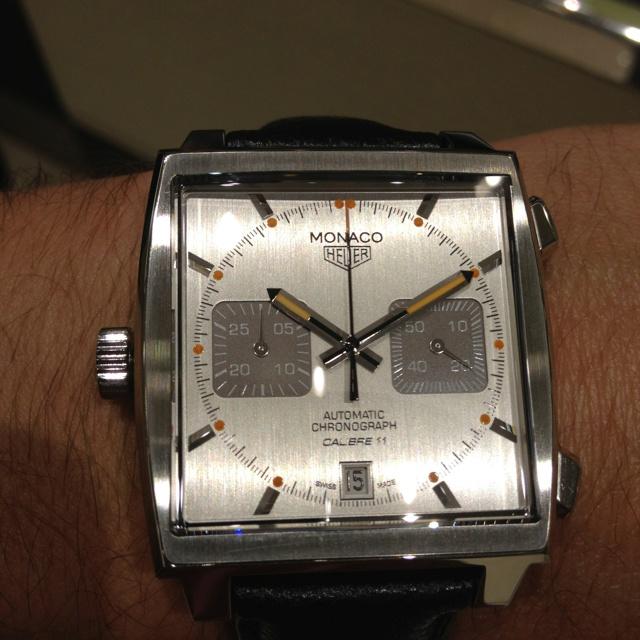 A sweet special edition Monaco.: Editing Monaco, Special Editing, Watches Clocks Men, Sweet Special