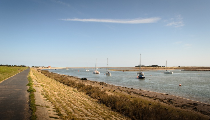 Day Five. Wells-Next-The-Sea to Holkham. Wells Harbour.
