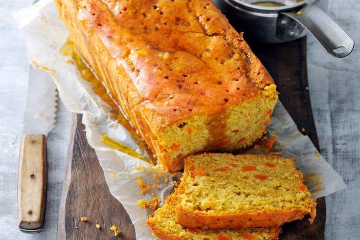 Kruidig en zoet tegelijk: deze cake smaakt op gure herfstdagen als de beste dankzij pompoen, speculaaskruiden en sinaasappel - Recept - Allerhande