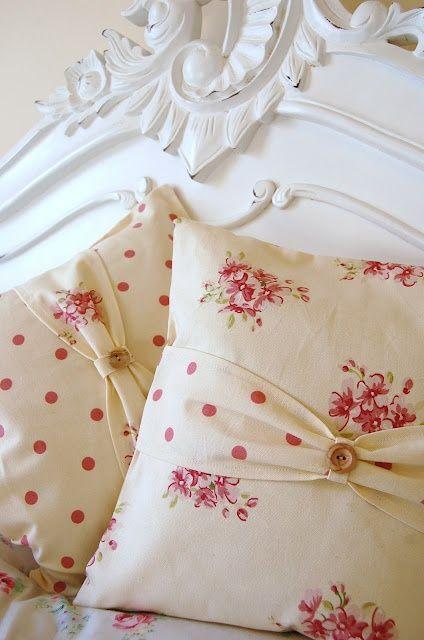 ♥   Dolliedaydream, Textiles, French Shabby Chic, Boudoir, Cushions