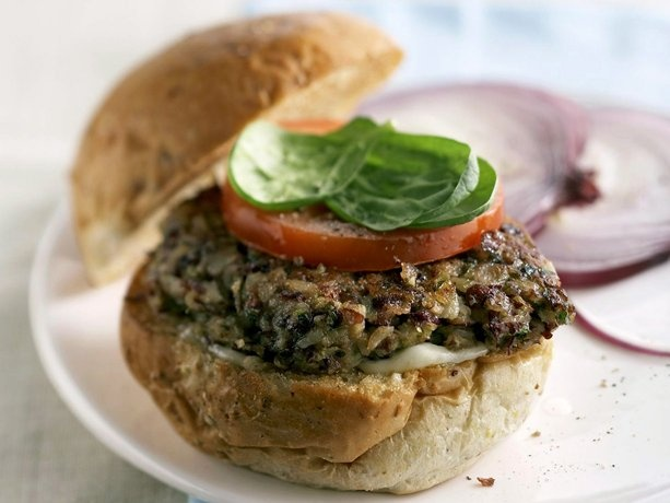 ... burgers on Pinterest | Lentil burgers, Mushroom burger and Black beans