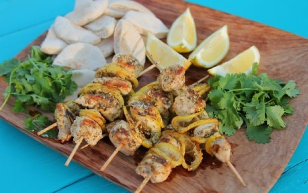 Chicken Kebabs Recipe by Siba Mtongana : Food Network UK