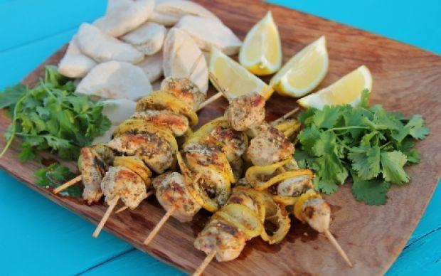 Chicken Kebabs Recipe by Siba Mtongana : Food Network UK