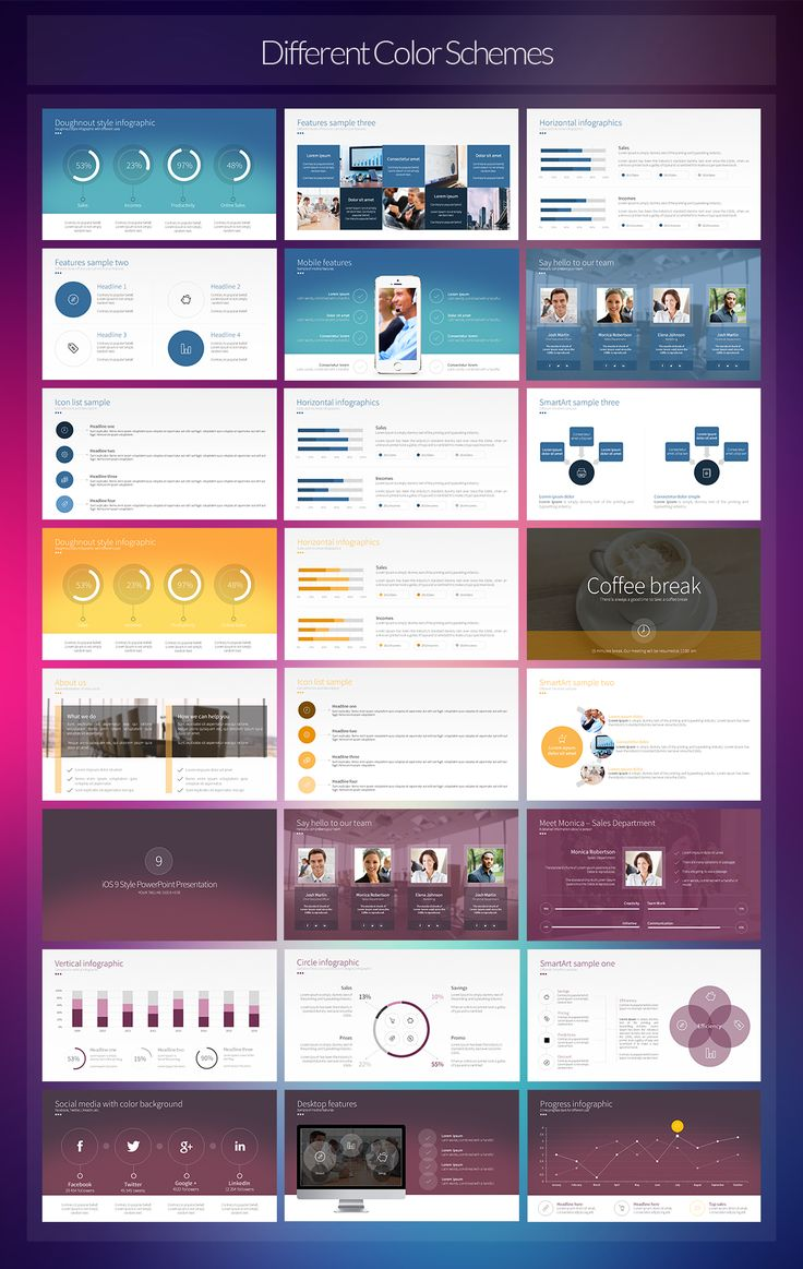 by Creative Fox in Templates  Presentations  iOS 9 Style PowerPoint Presentation…