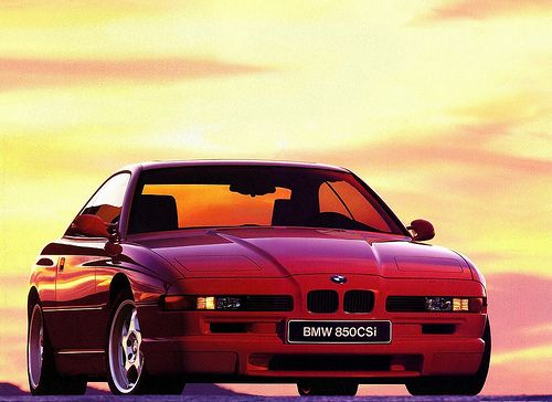 E31 850CSi, a super car with a V12 and a six speed manual transmission. Awesome!