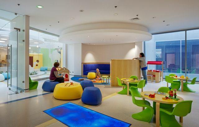 Healthcare Interior Design Competition | Project Title: Bayt Abdullah  Childrenu0027s Hospice | Project Location: Sulaibikhat, Kuwait | Firm: NBBJ,  Colu2026