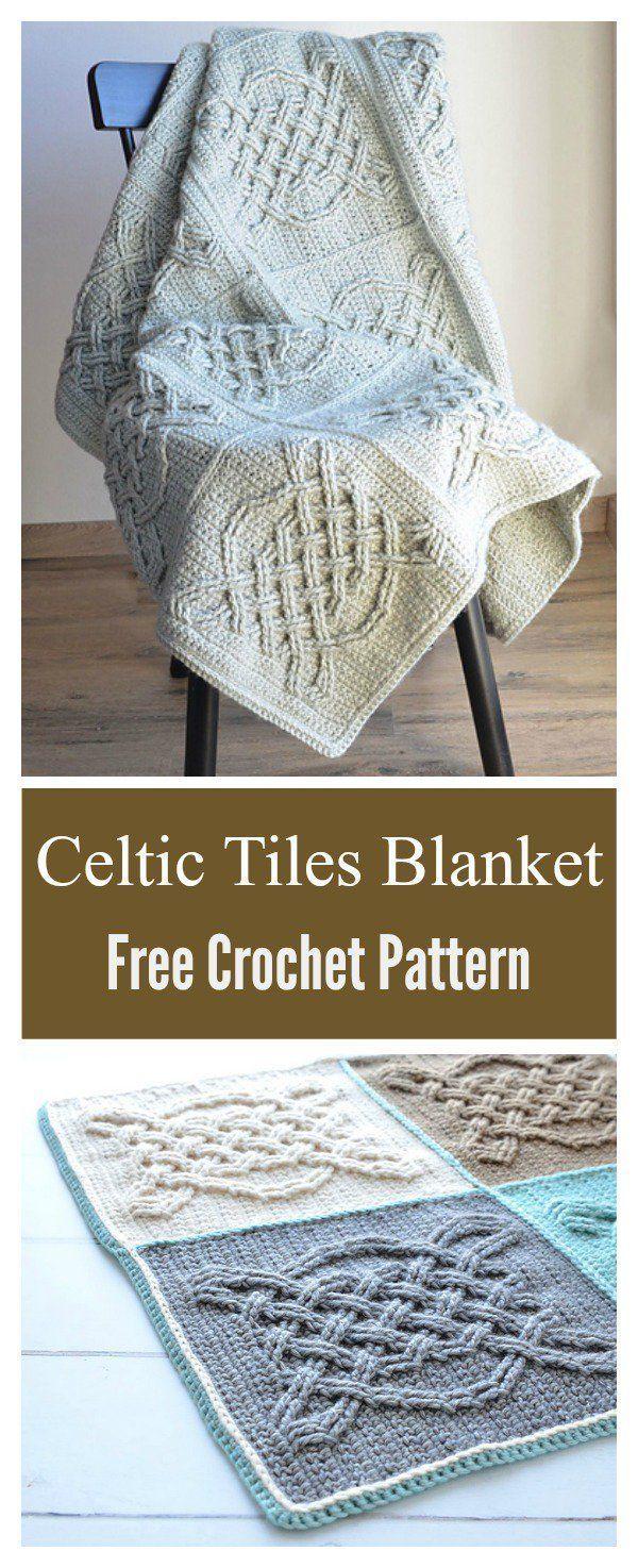 Keltische Fliesen Decke Free Crochet Pattern Handwerk Und Di