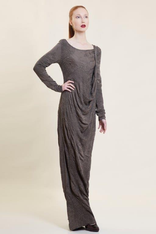 multifunctional, draped maxi dress Autumn Winter 2015