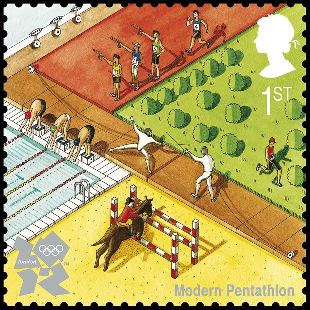 Modern Pentathlon by Katherine Baxter (2nd Series July 27, 2010)