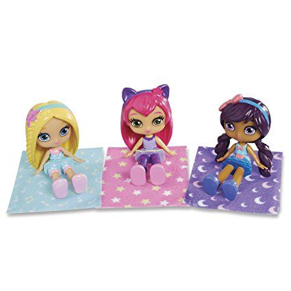 Little Charmers, Sleepover Set, 3 Figurine Pack