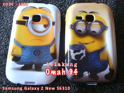 Kode Barang 1888 Jual Silikon Soft Case Samsung Galaxy Young 2 New S6310 Motif Minion | Toko Online Rame - rameweb