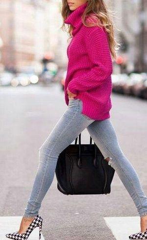 千鳥格子模様のポインテッドパンプスのコーデ☆参考にしたいスタイル・ファッション♪