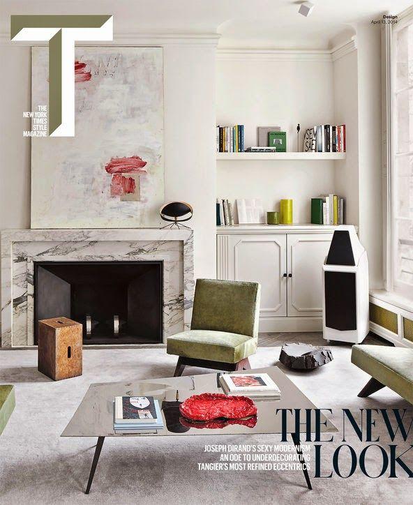 The antique and modern mix of Joseph Dirand's Parisian apt,