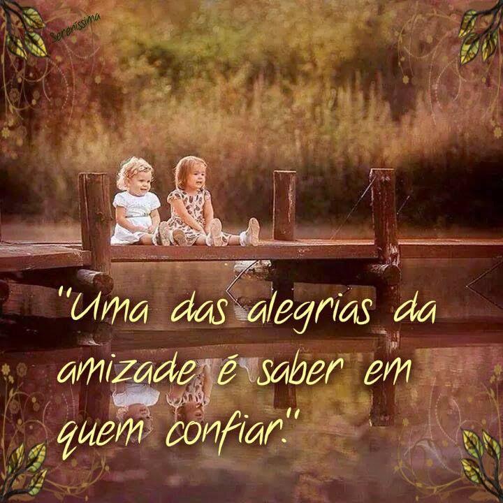 Amizade Amigo  Confiar  Alegria