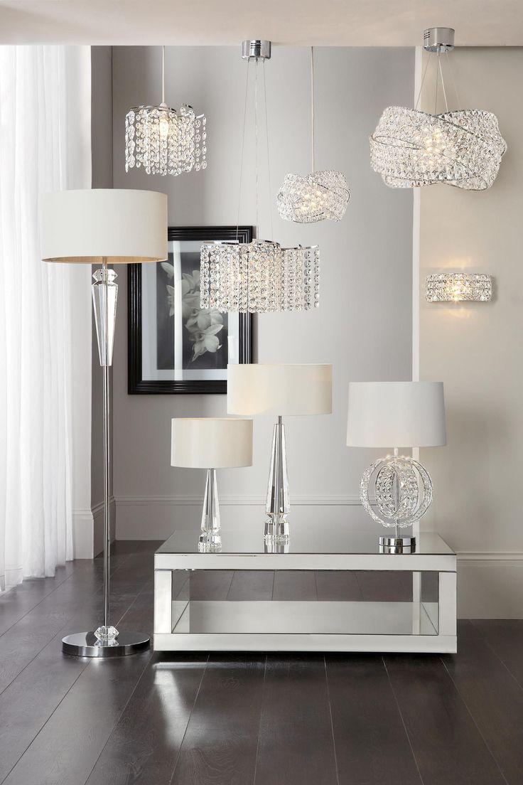 Lighting Next. Buy Lighting Floor Lights Chrome Floorlights From The ...