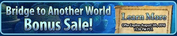 #bridgetoanotherworld CE Bonus #sale! #bonussale - Buy Bridge to Another World: Alice in the Shadowland Collector's Edition and get 50% Off any additional Collector's Edition #games! Use code ALICE at checkout. Offer valid August 4-5, 2016. http://www.bigfishgames.com/games/11533/bridge-to-another-world-alice-shadowland-ce/?channel=affiliates&identifier=af5dc3355635