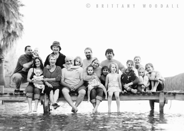 Brittany Woodall is an amazing photographer and I seriously would love to have a family picture just like this, on a dock.