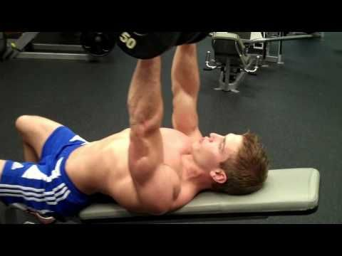 How To: Dumbbell Incline Chest Press #GetSlim with InnerTitan Build-a-Plan workouts at www.InnerTitan.com/build-a-plan