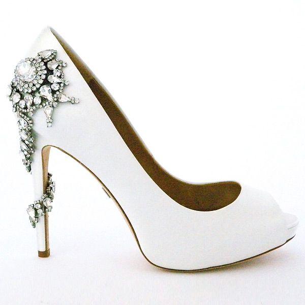 Badgley mischka wedding shoes badgley