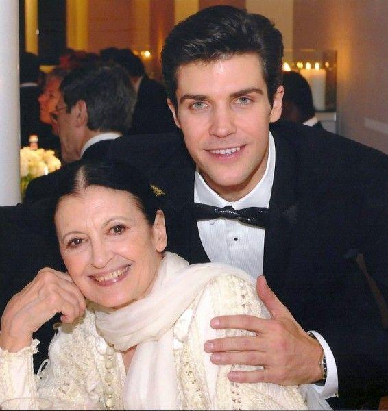 Carla Fracci with Roberto Bolle