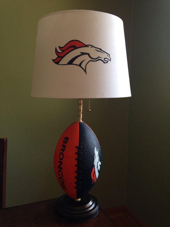 Denver Broncos football Lamp: