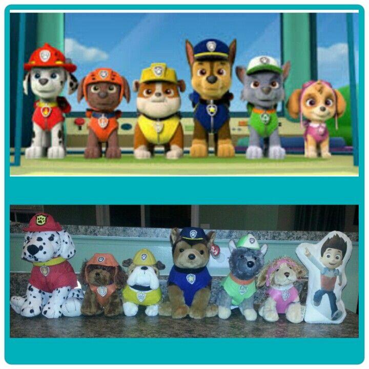 Paw patrol stuffed animals