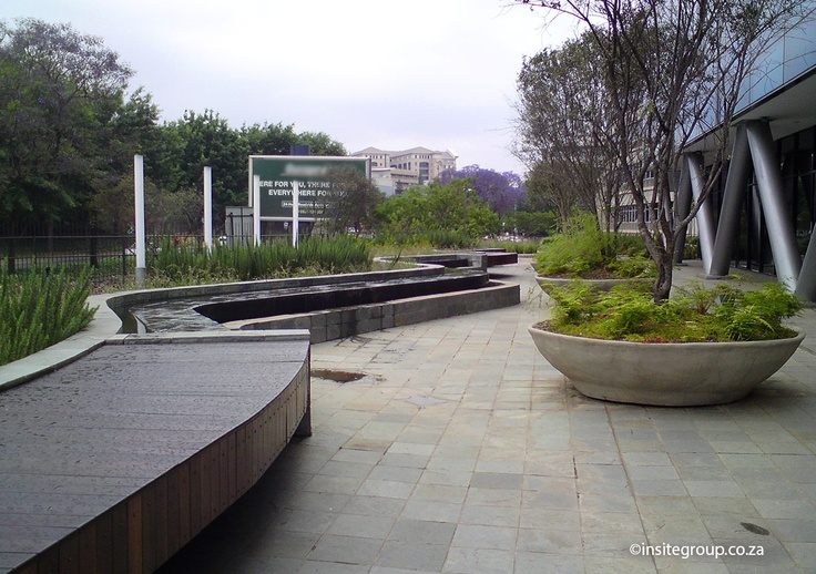Benches by Insite for Sandown