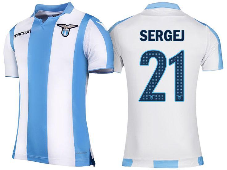 Lazio Jersey sergej milinkovic savic Away 17-18 Shirt ...