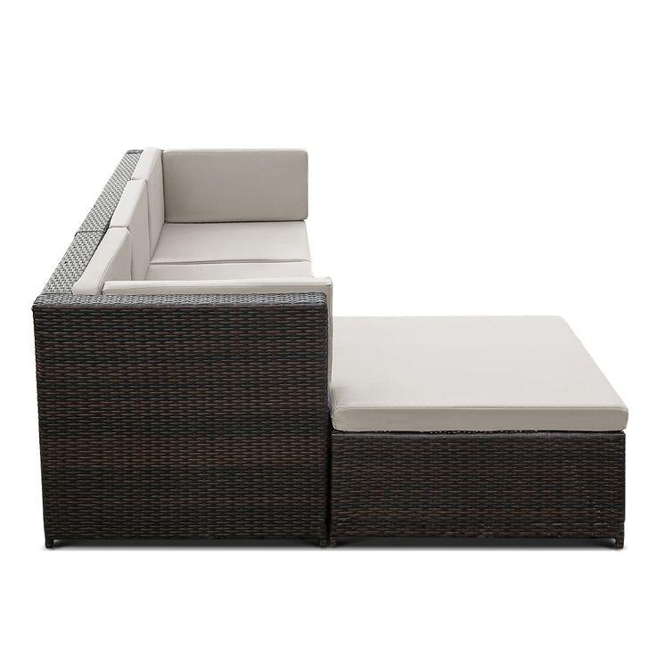 Stylish Outdoor Furniture Sofa Set Garden Corner Sofa Sale