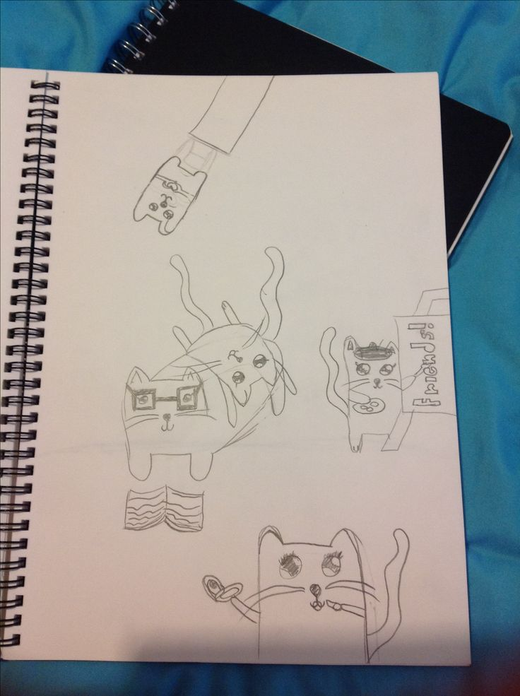 Me and my friends as cats