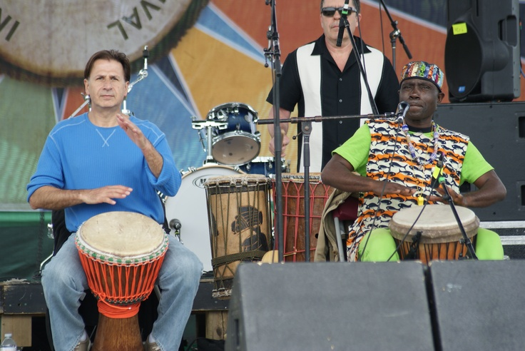 #MIDF 2013 Njacko Backo & Toumkak Drummers (Cameroon Contemporary African) Saturday, June 8th Photo by Chris Seagram, CMS Photography All Rights Reserved 2013