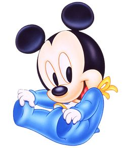 Disney Babies Clip Art | Baby Mickey Mouse - Disney And Cartoon Clip Art Images