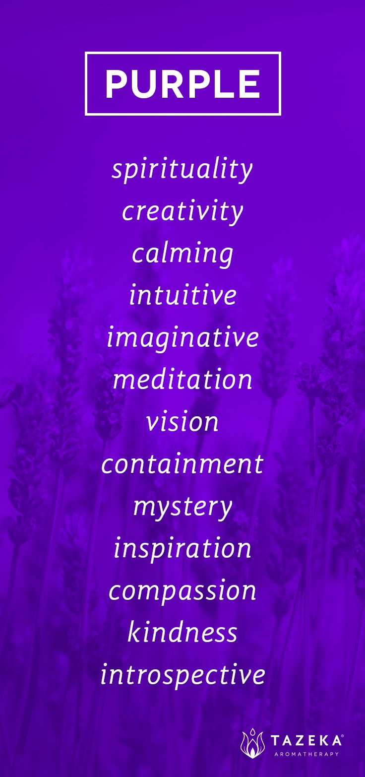 purple color psychology tazekaaromatherapy design