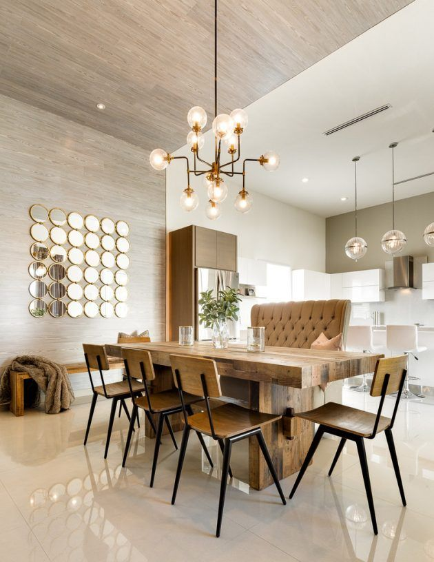 17 Spectacular Transitional Dining Room Designs Youu0027re