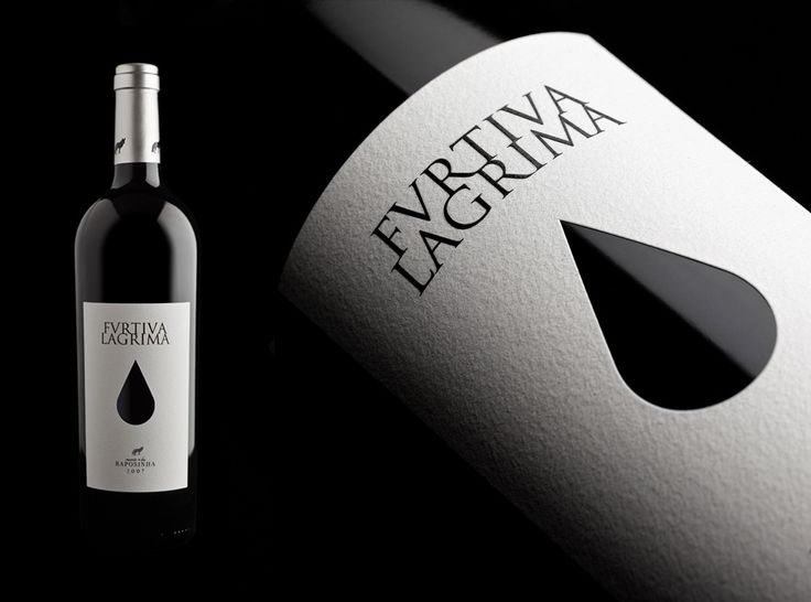 Furtiva Lagrima wine packaging by António Queirós Design