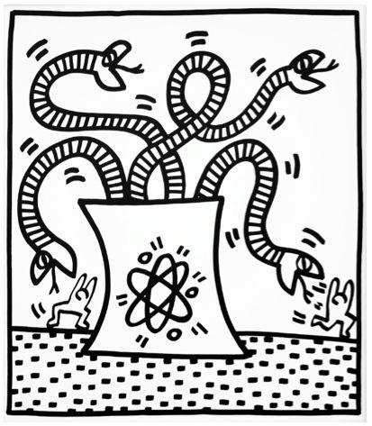 Serpents II by Keith Haring https://artsation.com/en/shop/keith-haring