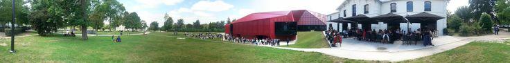 Le Forum de l'Economie Collaborative à Cenon au Rocher de Palmer. Lieux très beaux et agréables. Forum très intéressant avec des intervenants de qualités.  www.jestocke.com