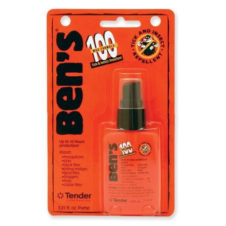 AMK Bens 100 Max Pump Spray Repellent 1.25Oz Carded