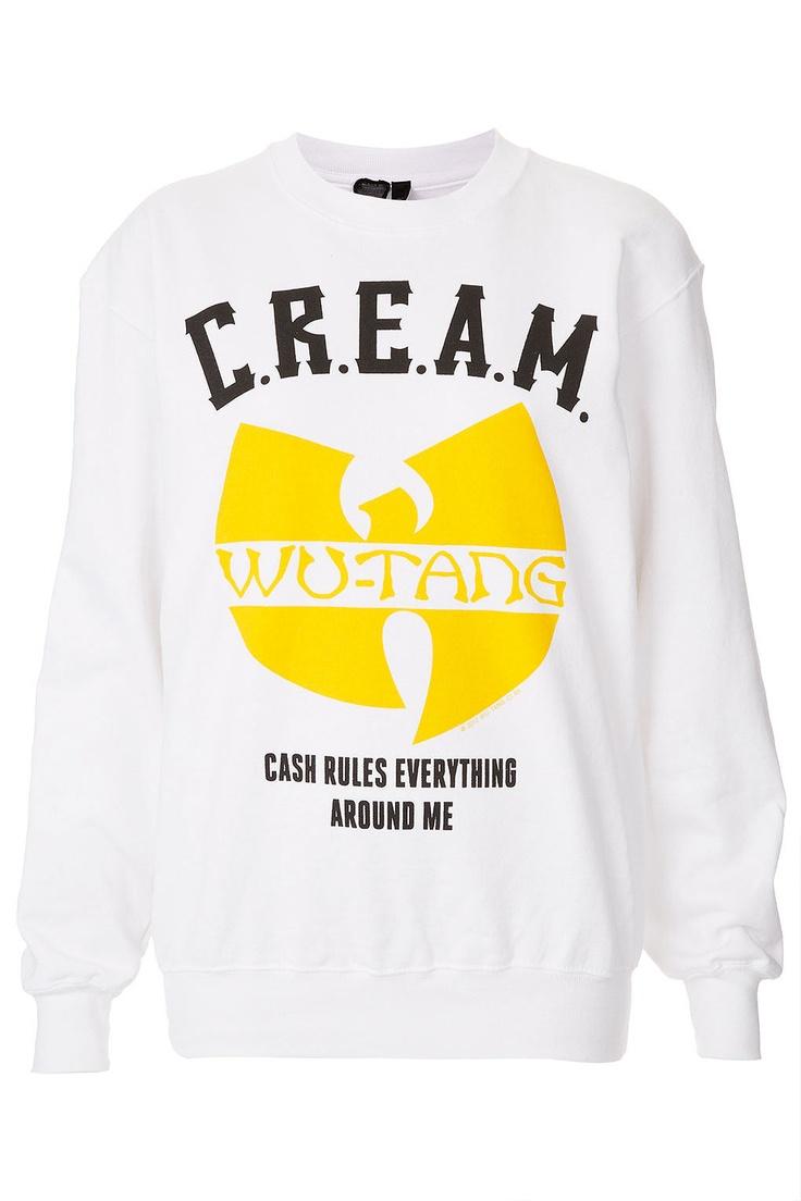 Wu tang cream hoodie