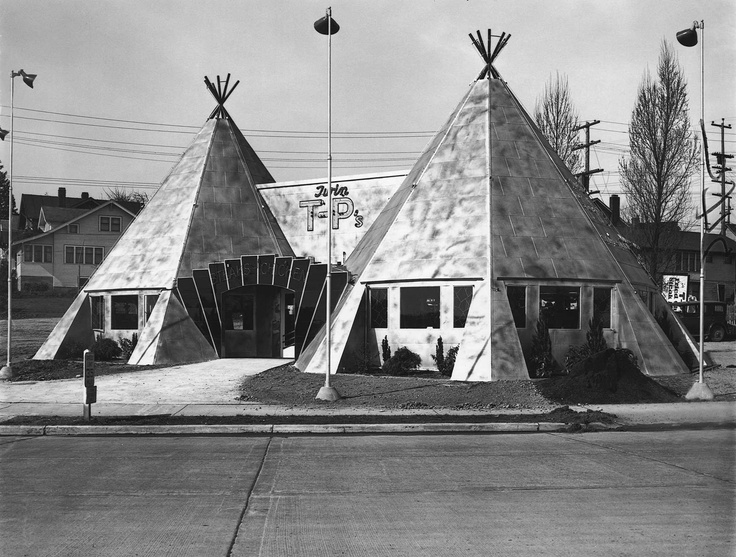 An Early 1937 Portrait Of The Twin T-P's Restaurant When