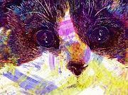 """New artwork for sale! - """" Cute Cat Ragdoll Face Blue Eyes  by PixBreak Art """" - http://ift.tt/2uMZ1sd"""