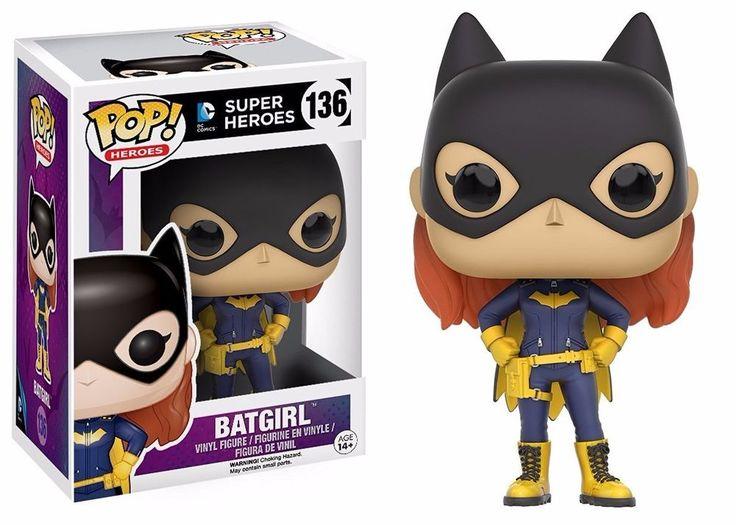 Funko Pop Heroes DC - Batgirl 2016 Vinyl Action Figure