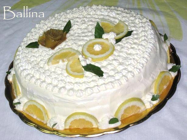 [SAP] -Torta delizia al limone